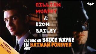 Screentest Cillian Murphy & Eion Bailey on Batman | Batman: Begins