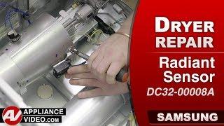 Samsung Dryer -  Flame Sensor - Diagnostic & Repair