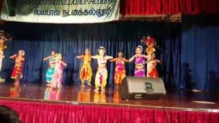 Nidhi 2016 dance performance