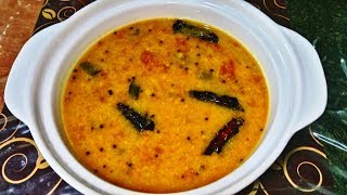 Nadan Thakkali Parippu Curry Kerala Style