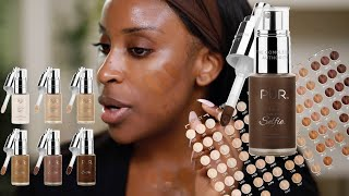 PUR Cosmetics 100 FOUNDATION SHADES?! I