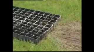 Ecogrid porous paving installation video wmv