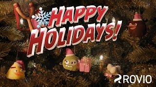 Angry Birds - Happy Holidays animated short!