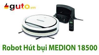 Giới thiệu Robot hút bụi Medion 18500- phiên bản mới của Medion 16192 | Hàng Đức | Guto.vn