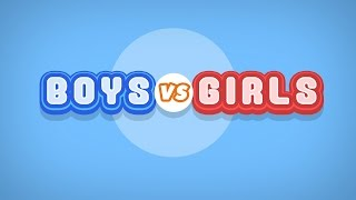 Boys VS Girls - JinnyboyTV