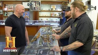 Pawn Stars: Dana White Wants Rick's 1600s Japanese Katana (Season 15) | History