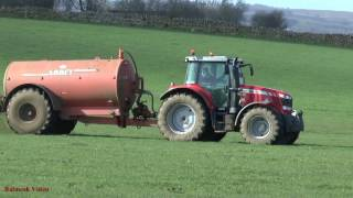 Tanking with Massey Ferguson 6616 and Abbey.