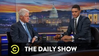 The Daily Show - Bill Clinton - Hillary Clinton and the Changing Political Landscape