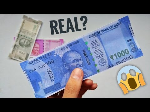 Xxx Mp4 NEW Rs 1000 NOTE REAL OR FAKE MUST WATCH 3gp Sex