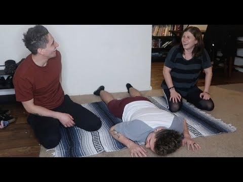 Failing at yoga...again.  ||  Husband and Husband #156