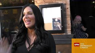 Patti Stanger discusses Bella Thorne's Cellphone Nudes outside the Skinny Cannabis Vape Launch Party