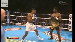 Anthony Joshua vs Charles Martin KO 2 Round Full Fight 9/4/2016