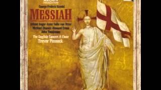 Handel  Messiah   ---  Pinnock