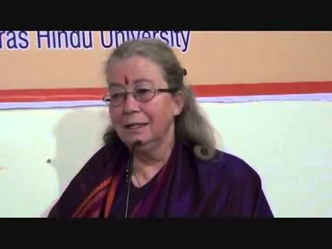 Part 5/8 - Seminar on BEING DIFFERENT at BHU - Bettina Baumer, Indologist, Varanasi