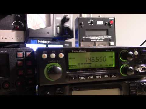 VHF and UHF antenna polarization and on air testing
