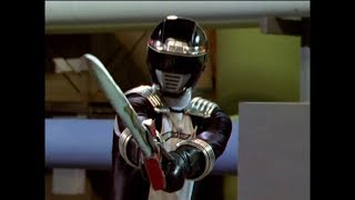 Power Rangers Operation Overdrive - Ronny on Empty - Black Ranger to the Rescue (Episode 24)