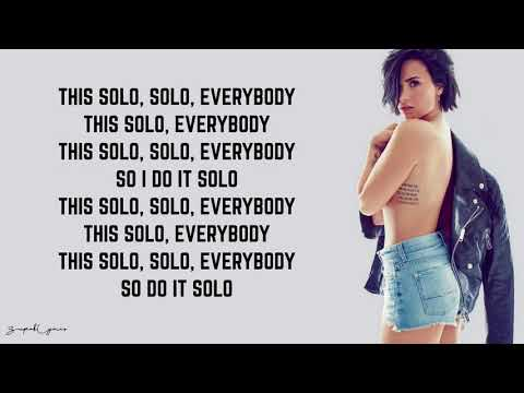 Download Clean Bandit - Solo (Lyrics) feat. Demi Lovato free
