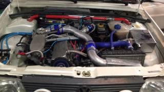 Gol GTI 2.0 Turbo  425,9whp  C/ 1,9kg.  HX40 Recife - PE