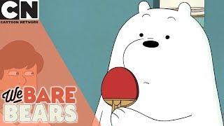 We Bare Bears   Ice Bear Owns at Ping Pong   Cartoon Network