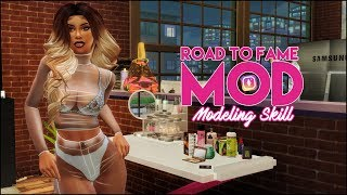 💕THE SIMS 4 LIVESTREAM // ROAD TO FAME MOD // RUNWAY MODEL PART 2❤️