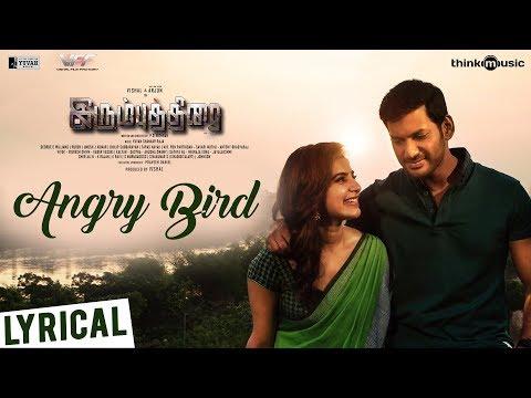 Irumbuthirai   Angry Bird Song   4K   Vishal, Arjun, Samantha   Yuvan Shankar Raja   P. S. Mithran