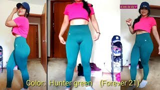 """OUTFITS PARA GYM""( Forever 21)Leggins"