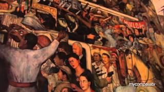 Murales de Diego Rivera en México - Palacio Nacional - travel channel