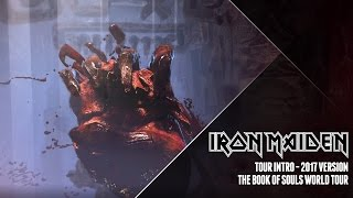 Iron Maiden - Tour intro, The Book Of Souls 2017