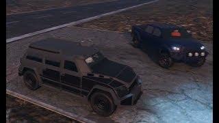 GTA 5 Airport Drag Race (Nightshark vs. Contender, Kuruma, Trophy Truck, and Bonus Vehicle!)
