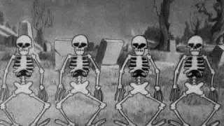 silly symphony - the skeleton dance 1929 disney short