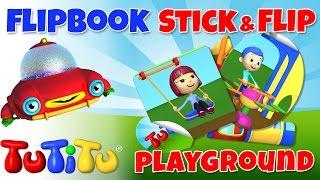 TuTiTu Toys - Make Your Own Animation | Playground | Stick & Flip DIY