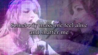 Shatter Me - Lindsey Stirling ft Lzzy Hale lyrics