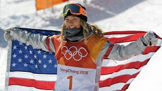 Chloe Kim Makes Olympic History After Winning Half-Pipe Event