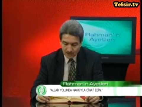 Hac Suresi Kuran Tefsiri 73-78 Ayetler Prof.Dr. Şadi Eren