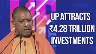 UP attracts investments worth ₹4.28 trillion, Yogi Adityanath | UP Investors Summit | Overseas News