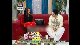 Mathira discussing her Condom Add with Nida Yasir and Mani in Ram