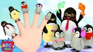 Finger Family - Penguin | + More Nursery Rhymes & Kids Songs - ABCkidTV