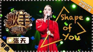 张天《Shape of You》 - 《歌手2018》第2期 单曲純享版 The Singer 【歌手官方頻道】