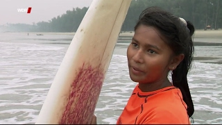 Surfing to be free: Brave girls in Cox´s Bazar, Bangladesh. With English subtitles