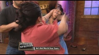 We Were Never Friends! (The Jerry Springer Show)