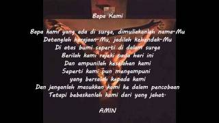 Bapa Kami - Indonesian version of The Lord's Prayer #2
