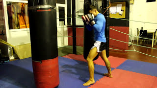 Combinaciones rapidas  de Muay Thai / Golpes INESPERADOS