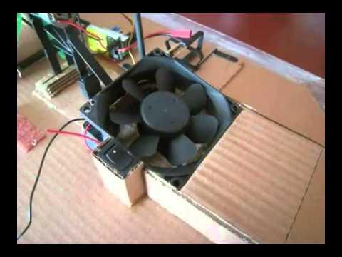 Rc hovercraft self built