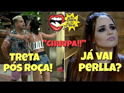 TRETA: GABI x Evandro x Fernanda + PERLLA ELIMINADA + Fim BruMar!