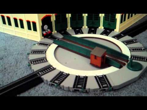 Bachmann Tidmouth sheds unboxing assembly and usage part6