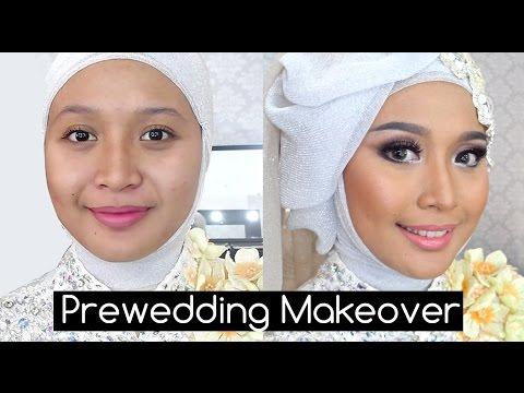 Tutorial Soft Make Up dan Hijabstyle Prewedding ala IniVindy
