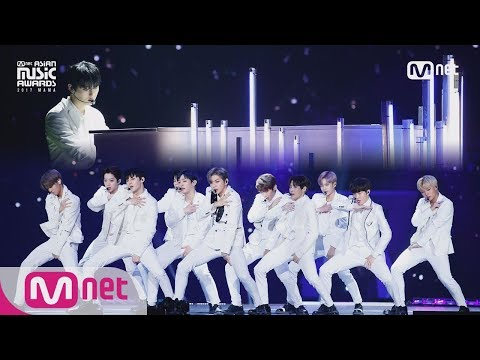 [2017 MAMA in Japan] Wanna One_INTRO Perf. + Energetic