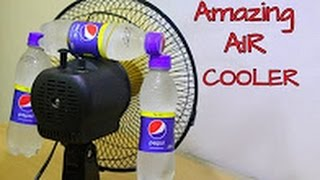 How to make Air Cooler at home using 3 plastic Bottle  Awesome idea 2