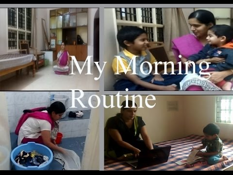 My Morning Routine  | Indian Minimalist Mom