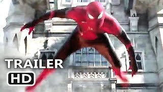 "SPIDER-MAN FAR FROM HOME ""Superhero Landing"" Trailer (NEW 2019) Marvel Movie HD"